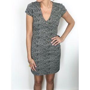 Express NWT black and white sheath dress